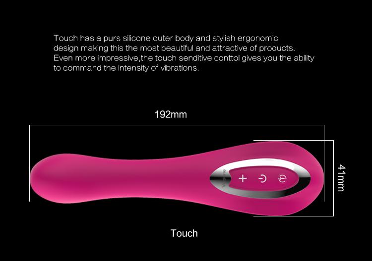 kích thước Máy rung cao cấp Nalone Touch